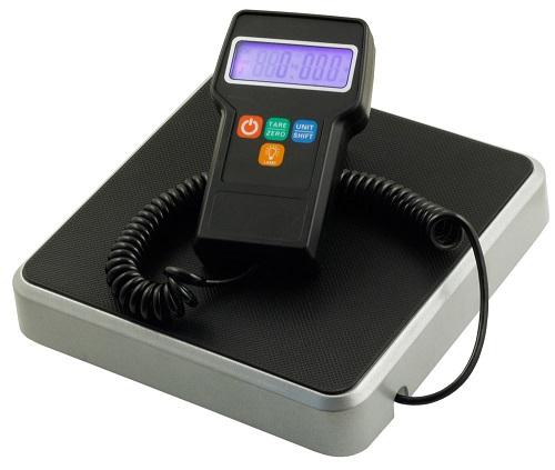 wyświetlacz LCD waga
